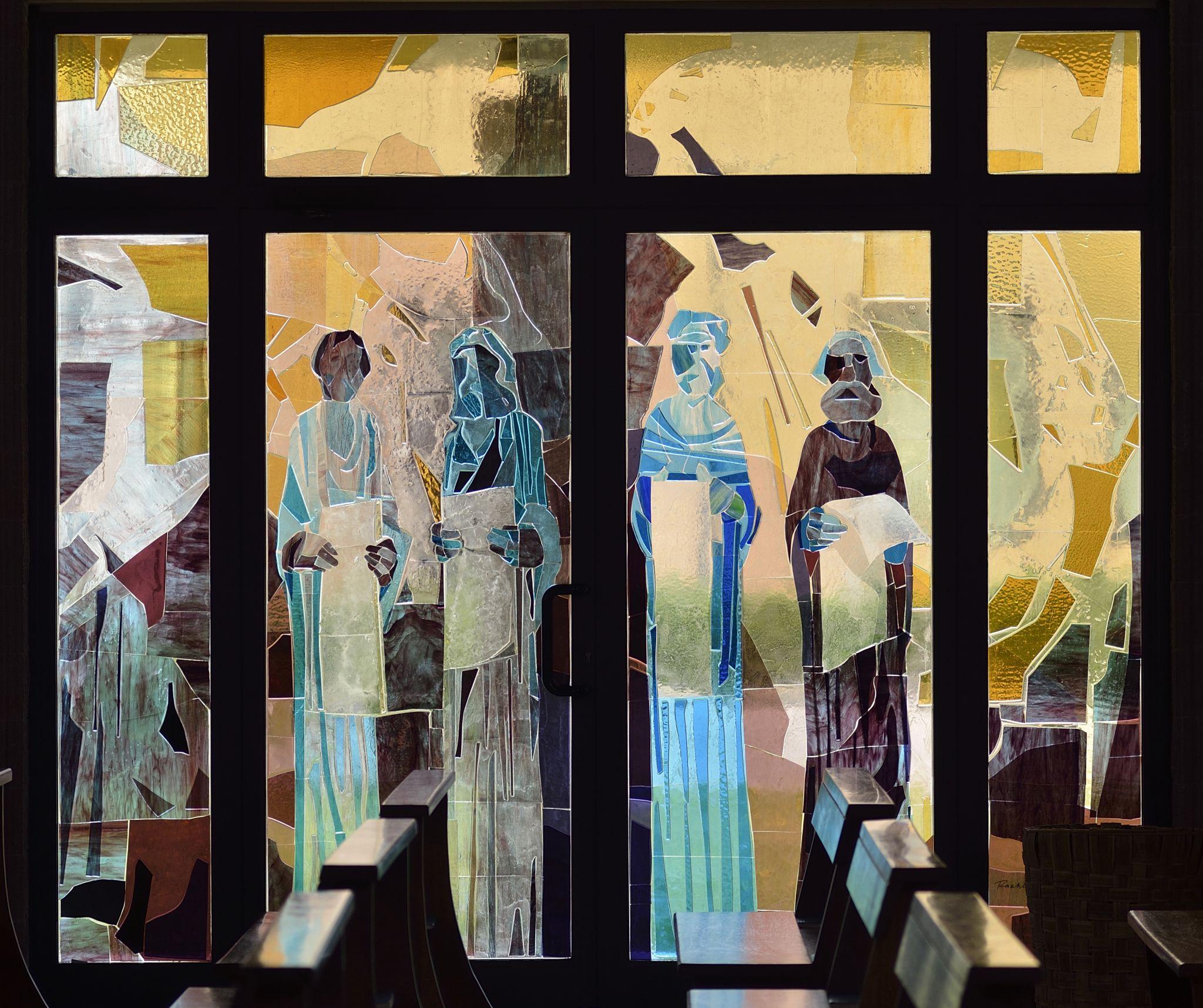 Vetrate Artistiche Fiorentine Arte Sacra Collage